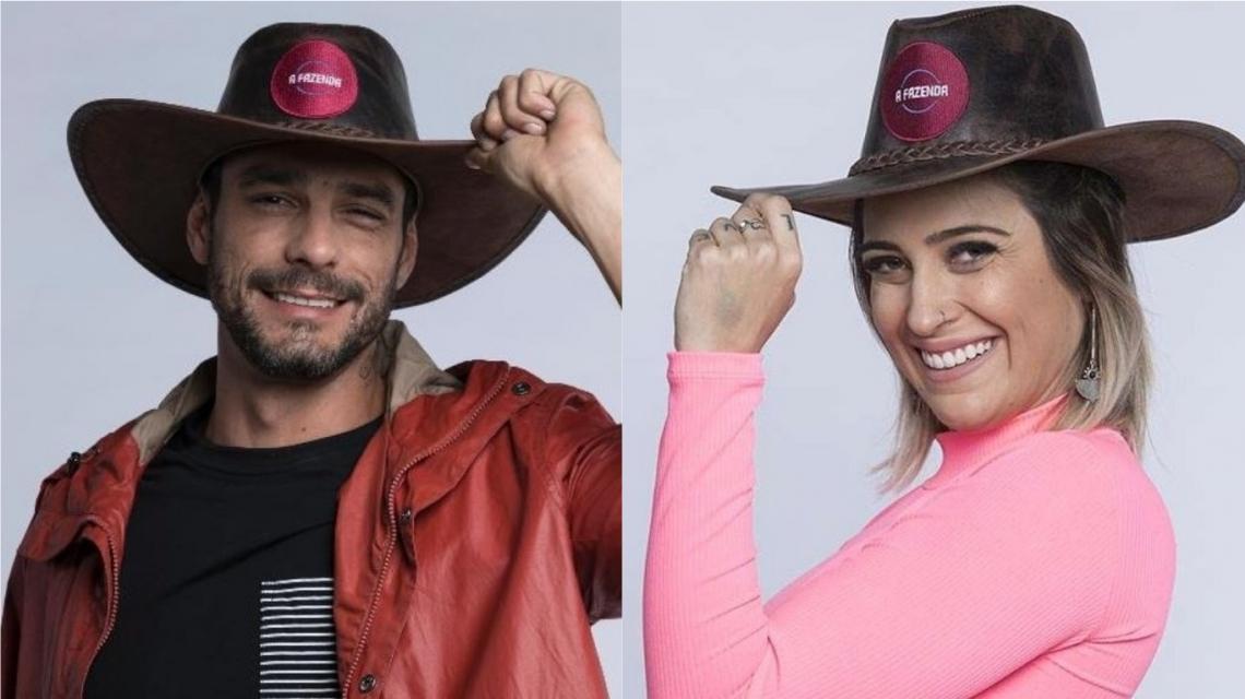 Diego Grossi e Tati Dias estão na quarta roça de A Fazenda 11.