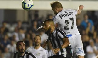 Gols do Santos diante do Ceará foram marcados por Eduardo Sasha e Gustavo Henrique