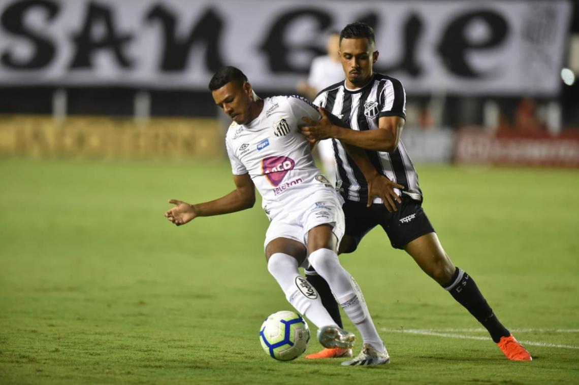 Jogadores do Ceará relataram ter ouvido insultos de parte da torcida santista
