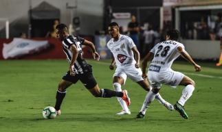 Lima marcou aos 18 minutos na Vila Belmiro