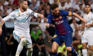 Barcelona e Real Madrid devem se enfrentar apenas em dezembro.