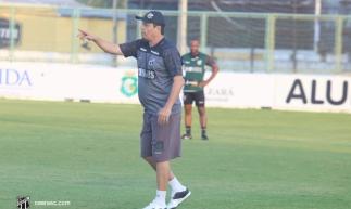 Ceará realizou treinamento neste sábado com foco na partida diante do Bahia