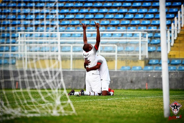 Atlético-CE passou pelo Guarany-S nas cobranças de pênalti (Foto: Kelly Pereira/Atlético-CE/Divulgação)