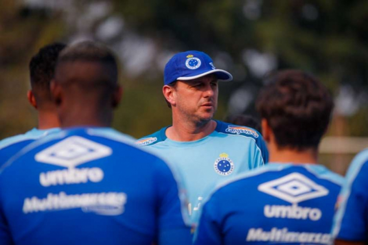 Rogério Ceni comandou o Cruzeiro em oito jogos, mas foi demitido após atritos internos  (Foto: Vinnicius Silva/Cruzeiro)