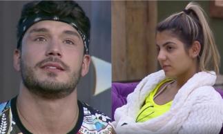Lucas Viana termina namoro com Hariany após peoa escolher salvar Thayse da roça.