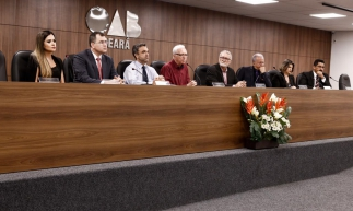 O seminário foi promovido, nesta quarta-feira, 23, pela Comissão de Direito Militar da Ordem dos Advogados Brasileiros do Ceará (OAB-CE)