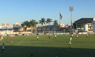 Ceará treinou na tarde desta quarta-feira com a presença de atletas da base