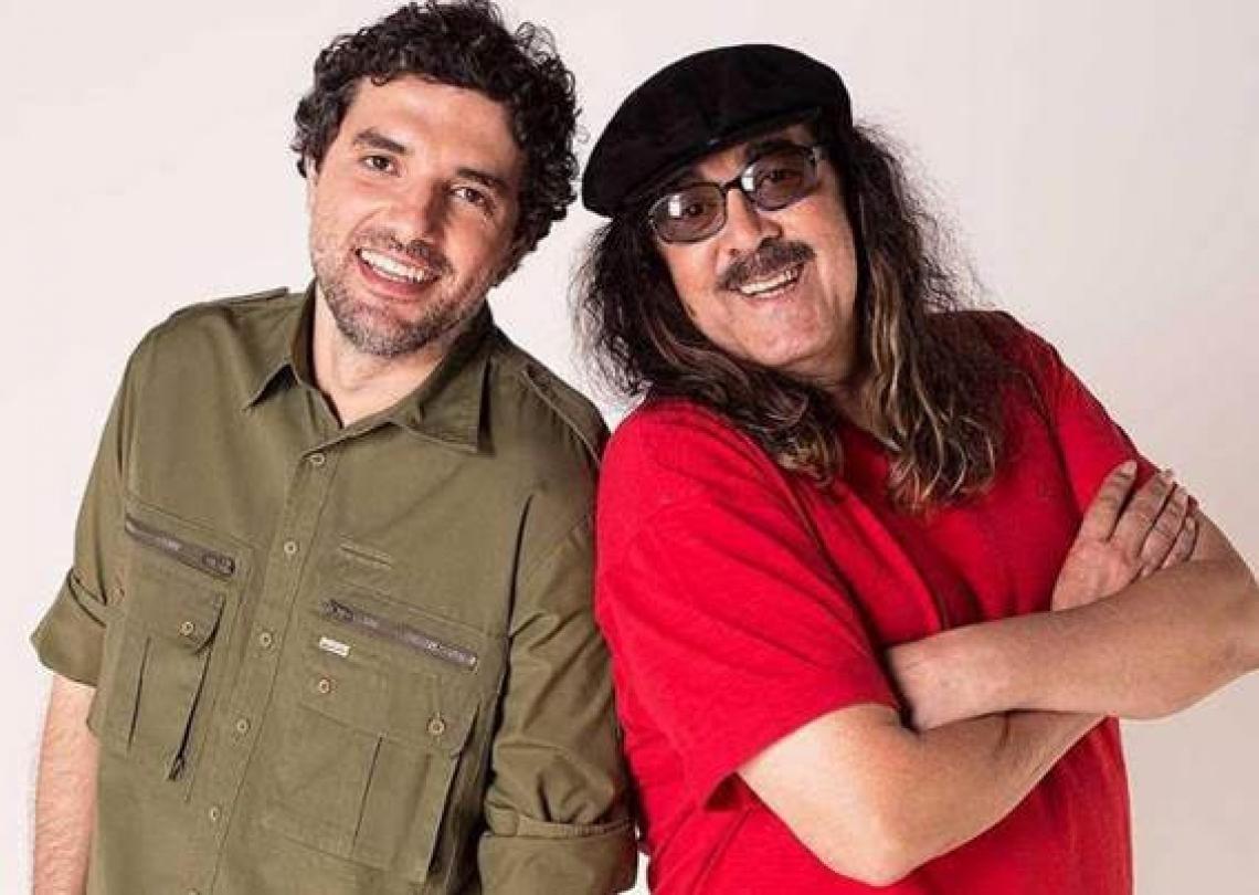 Moraes Moreira e Davi Moraes promovem encontro de gerações da música brasileira em show no RioMar Fortaleza.