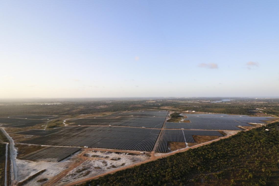 PARQUE de geração de energia solar no Eusébio