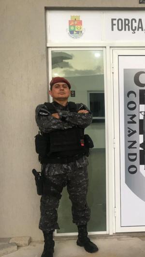 Major Gerlúcio Vieira comandou o Cotam