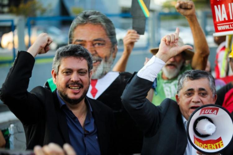 Márcio Macedo e José Guimarães