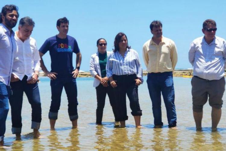O ministro disse que as praias do Estado e de todo o Nordeste estão limpas e prontas para receber turistas