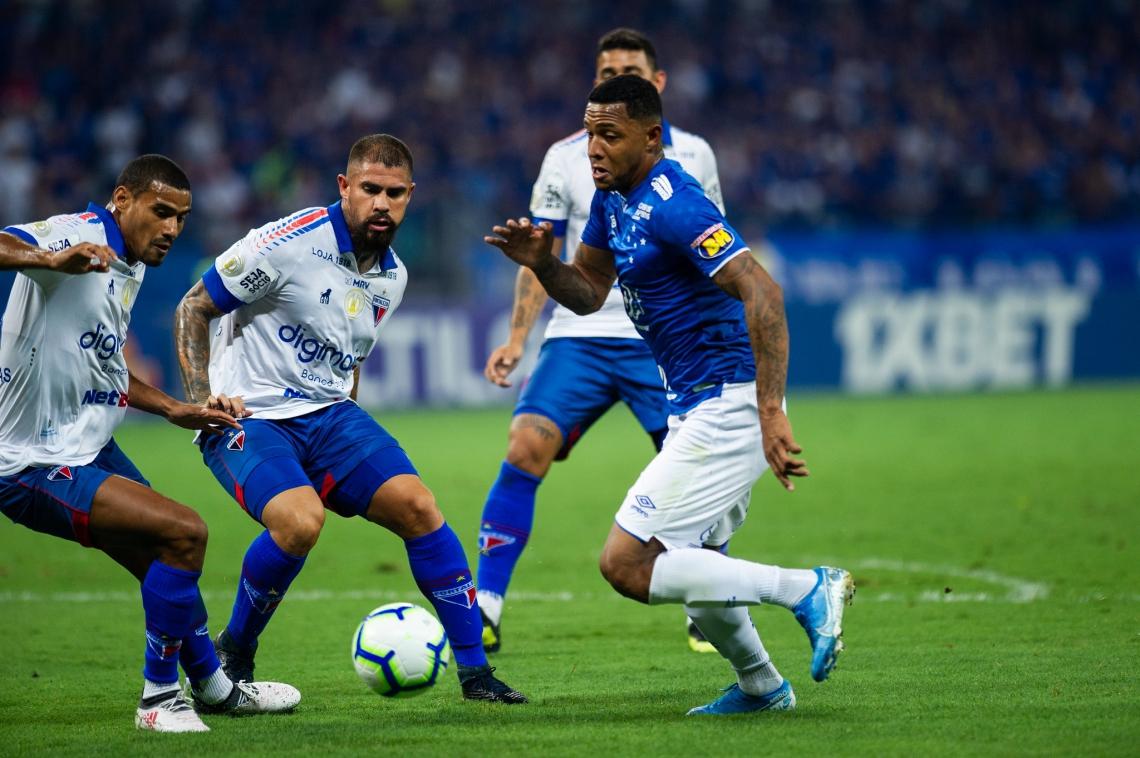 Cruzeiro se mostrou bem mais perigo e criou as principais chances da partida.