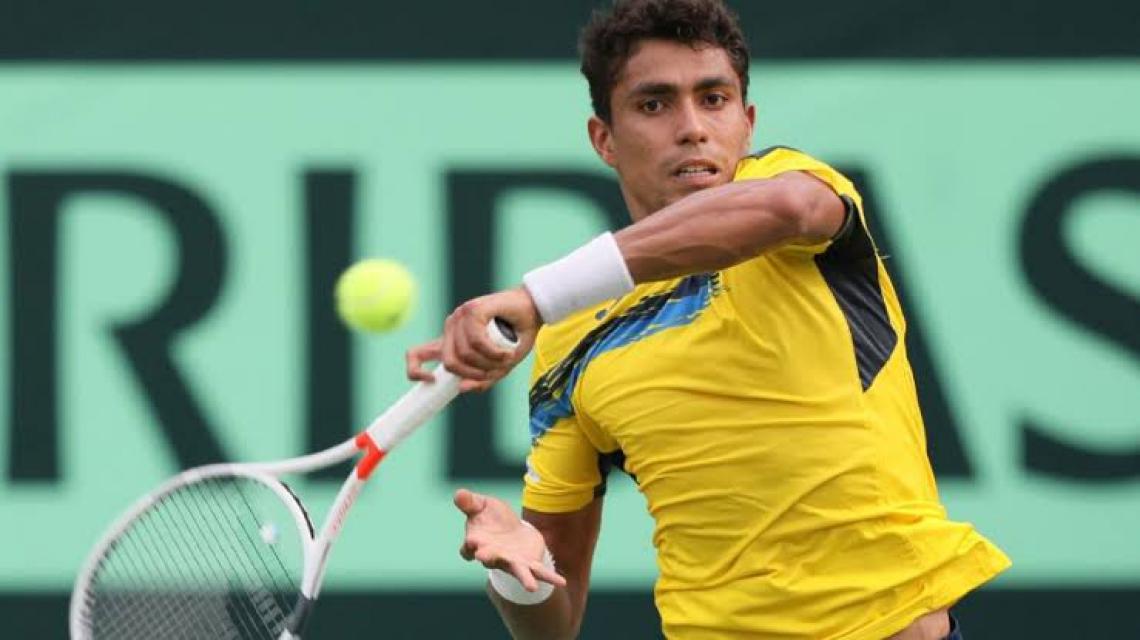 Thiago Monteiro superou Federico Coria na final por 2 sets a 1