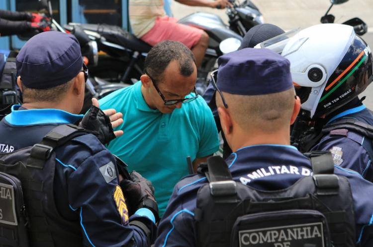 Prisão foi feita 40 minutos após a vítima acionar a Polícia