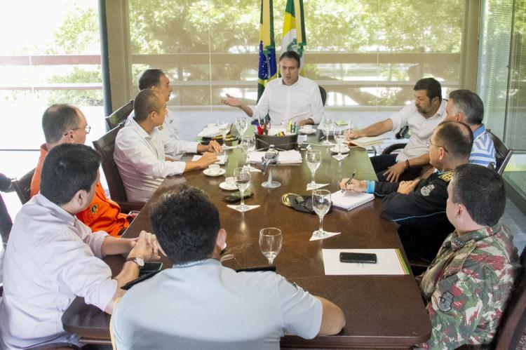 A reunião foi realizada nesta segunda-feira, 28.