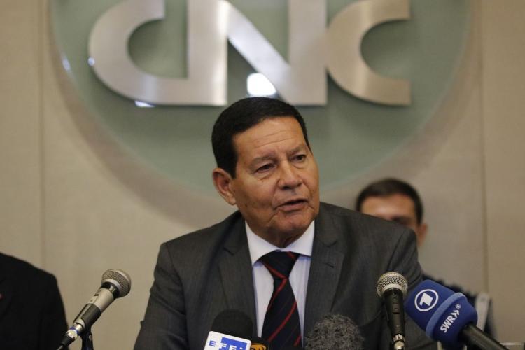 Vice-presidente da República, general Hamilton Mourão (Foto: Tomaz Silva/Agência Brasil)