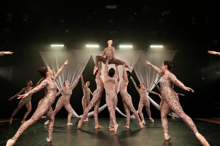 A Cia. de Dança Unifor promove espetáculo em vários dias do mês de outubro