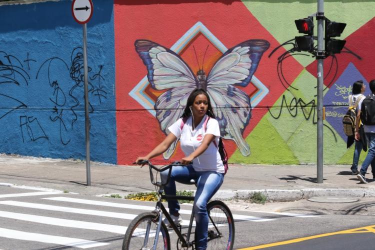 Mobilidade urbana em Fortaleza será avaliada por estudo (Foto: FÁBIO LIMA/O POVO)