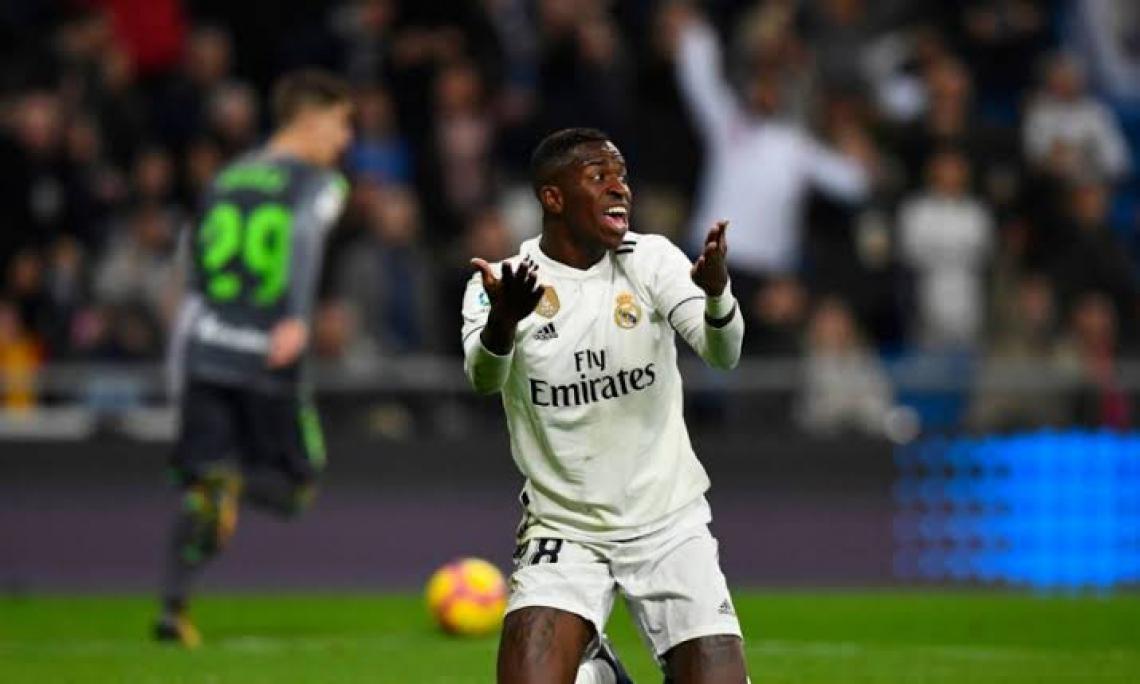 Vinicius Junior tem sido preterido por Zidane
