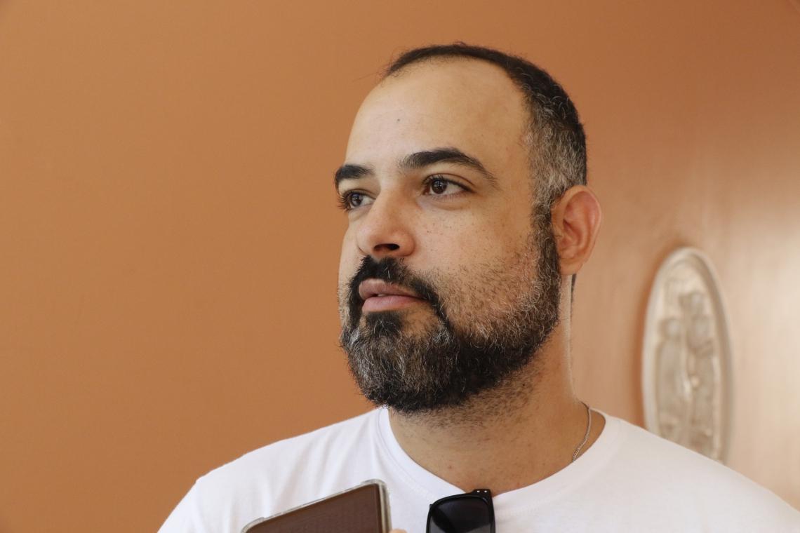 FORTALEZA, CEARÁ, BRASIL, 01/11/2019: Bruno Rocha, Presidente ADUFC (Mauri Melo/O POVO)