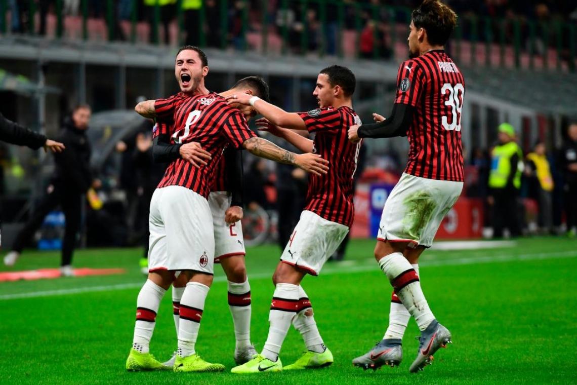 Stefano Pioli venceu sua primeira partida no comando técnico do Milan