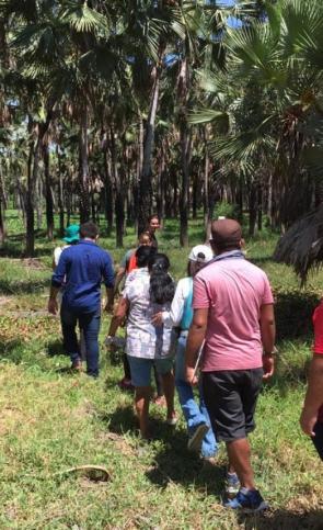 Comissão de Direito Ambiental da OAB Ceará, representantes da Autarquia de Meio Ambiente da Prefeitura do Eusébio, da Fundação Oswaldo Cruz (Fiocruz) e da comunidade visitaram a lagoa neste domingo
