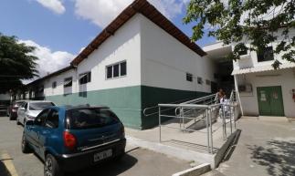 BRASIL, CE, FORTALEZA, 04-11-2019: Fachada do hospital Frotinha de Messejana. Visita de prefeito ao hospital público de Fortaleza. (Foto: Mauri Melo/O POVO)