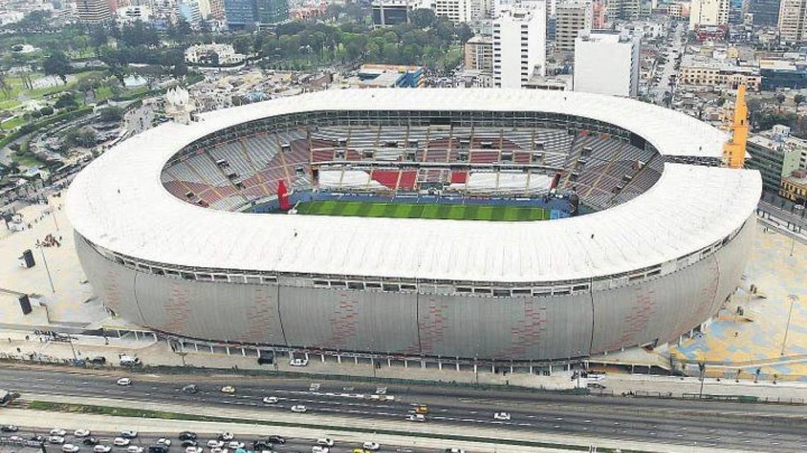 O estádio Monumental de Lima será a sede da final da Taça Libertadores da América 2019.