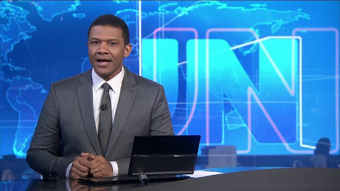 Márcio Bonfim no Jornal Nacional em agosto: Globo quer ele no Fantástico em dezembro