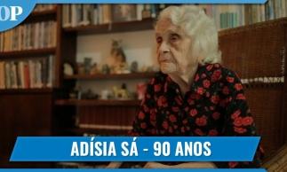 Jornalista Adísia Sá completa 90 anos