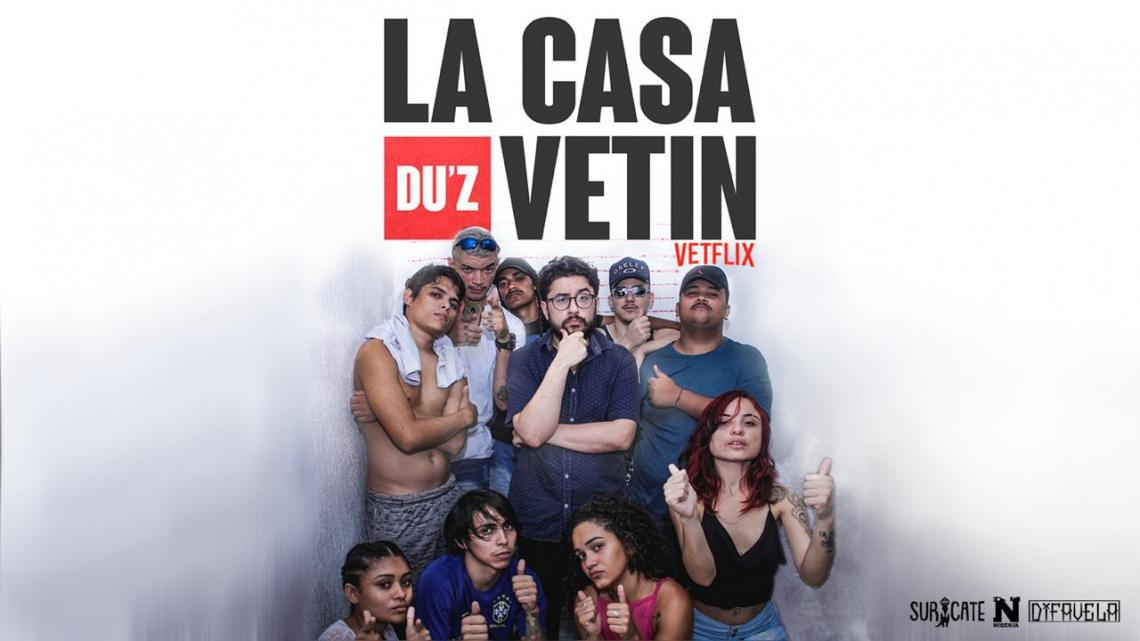 """A série """"La Casa Duz Vetin"""", uma produção DiFavela, estreia neste sábado, 9 de novembro, durante encerramento do Festival Concreto"""