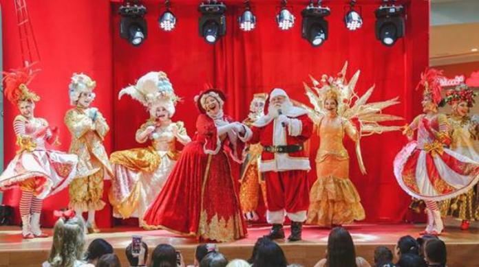 A programação para o Natal do RioMar Fortaleza ocorre de quinta a domingo toda semana, até o mês de dezembro