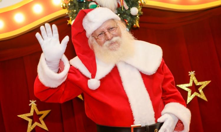 O Papai Noel chega ao North Shopping Fortaleza no domingo, 10, às 16 horas