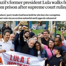 Decisão da Justiça sobre Lula foi destaque no jornal britânico The Guardian