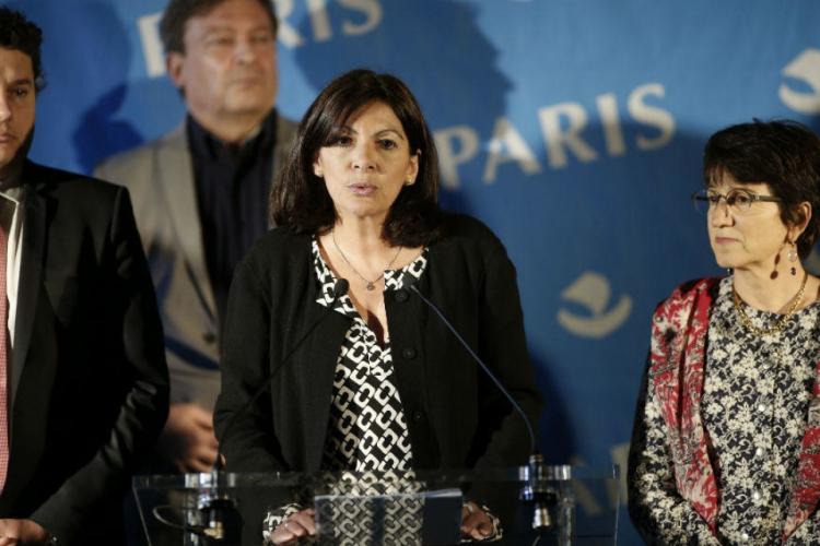 Prefeita de Paris, Anne Hidalgo (Foto: Matthieu Alexandre/ AFP )