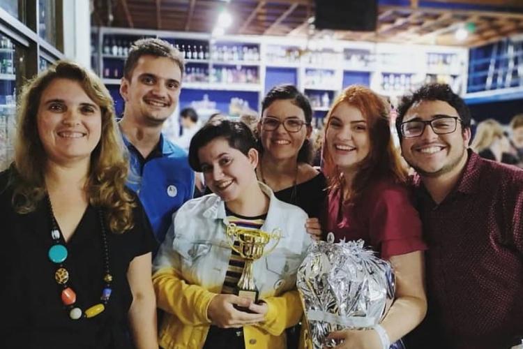 Equipe de autores do aplicativo PadimPet é formada por estudantes de diferentes cursos do Campus de Quixadá da UFC  (Foto: ARQUIVO PESSOAL)