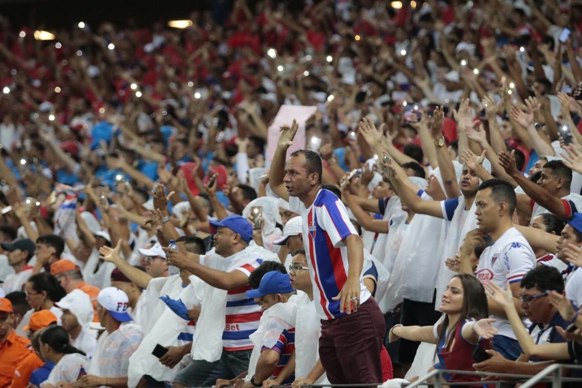 Fortaleza já está classificado matematicamente para a Série A de 2020. (Foto: Júlio Caesar/O Povo)