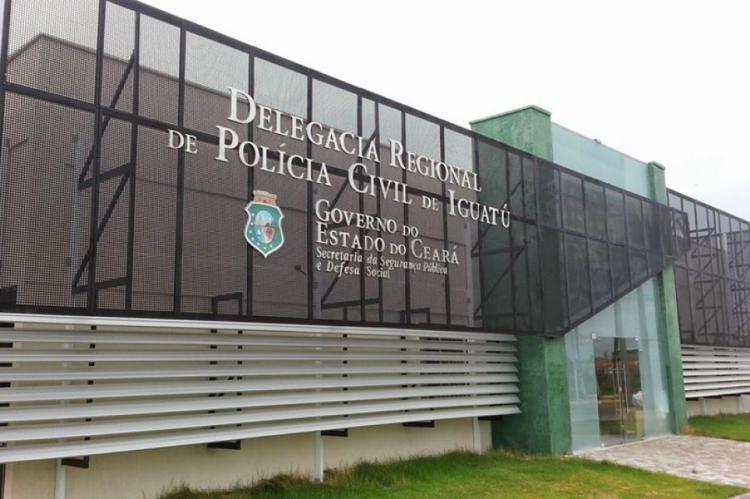 O homem foi preso e encaminhado a delegacia de Iguatu