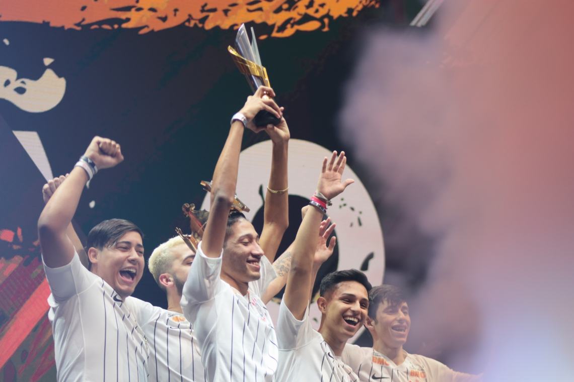 O time do Corinthians foi o vencedor o Free Fire Pro League desse ano