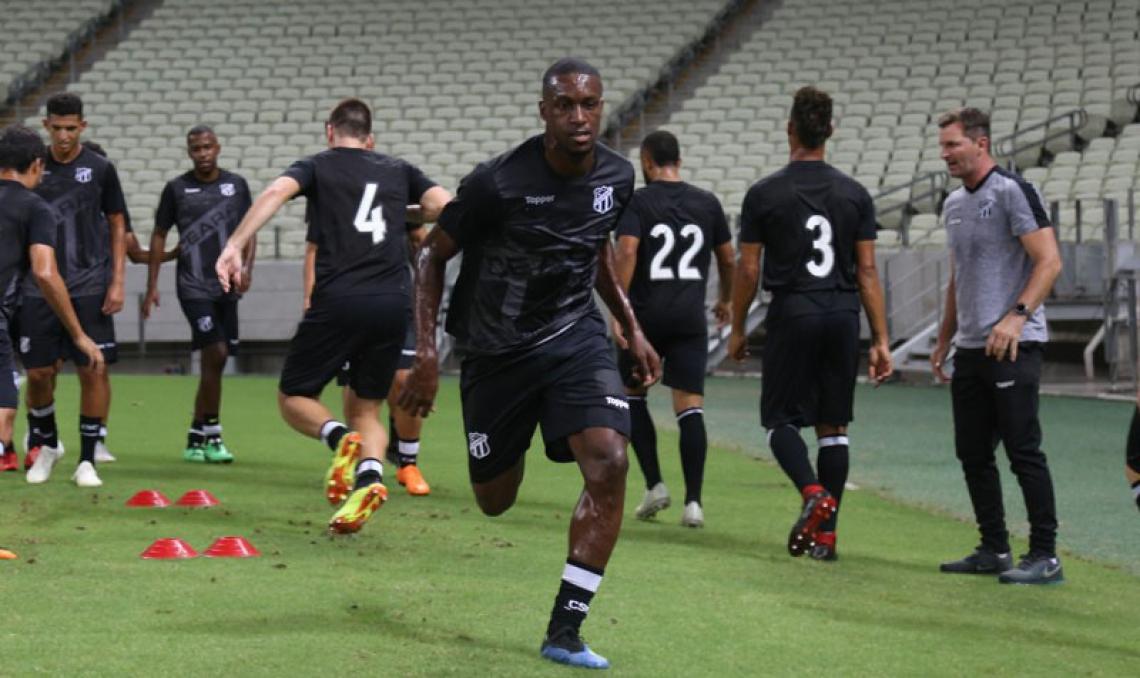 William Oliveira fez 19 partidas e um gol pelo Ceará em 2019