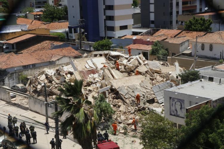 Desabamento matou nove pessoas em outubro de 2019 (Foto: Mauri Melo)