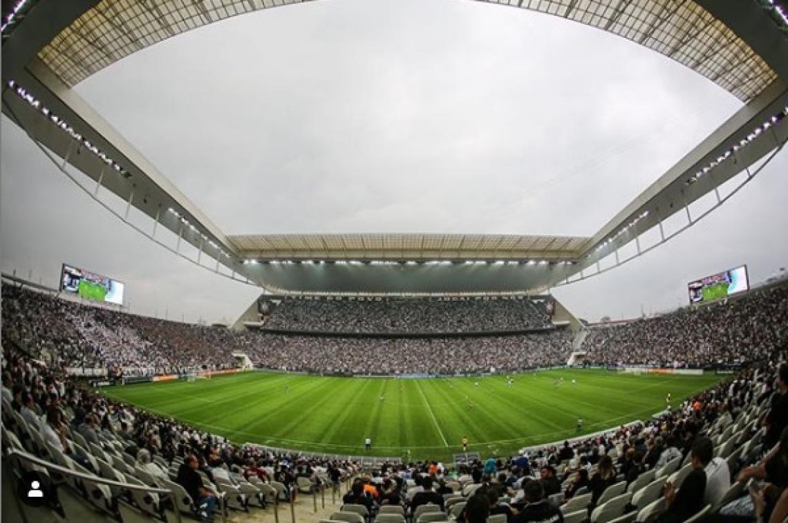 Arena Itaquera recebe hoje a partida entre Corinthians e Internacional pelo Brasileirão