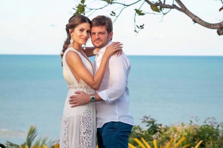 Maysa Mussi e Eduardo Mussi se casaram há poucos meses, em Itacaré