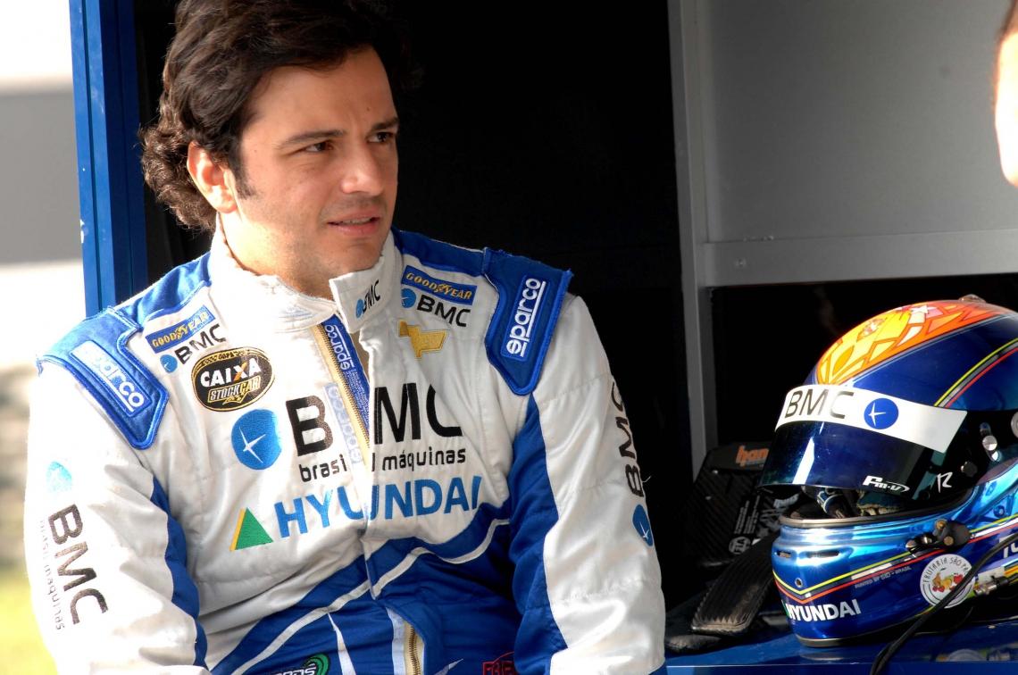 Tuka fez carreira como piloto da Stock Car