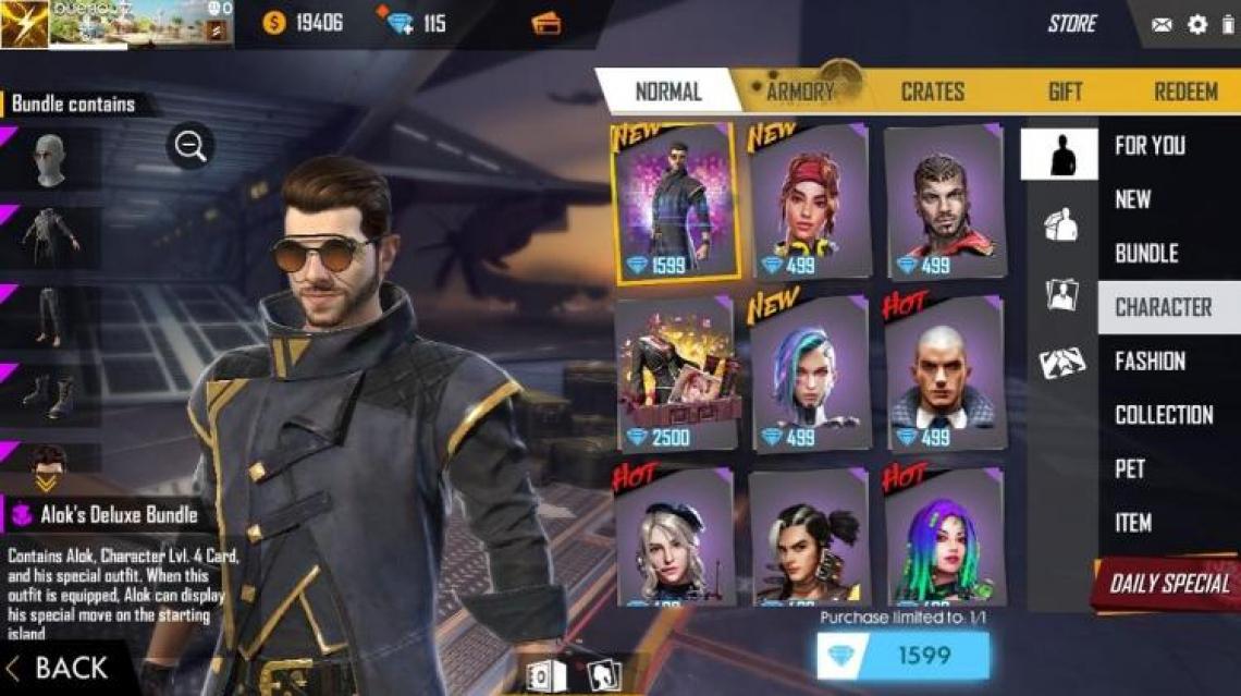 DJ Alok se transformou em um personagem do jogo de ação