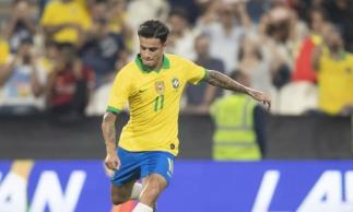 Coutinho fez quatro gols em 2019 pelo Brasil