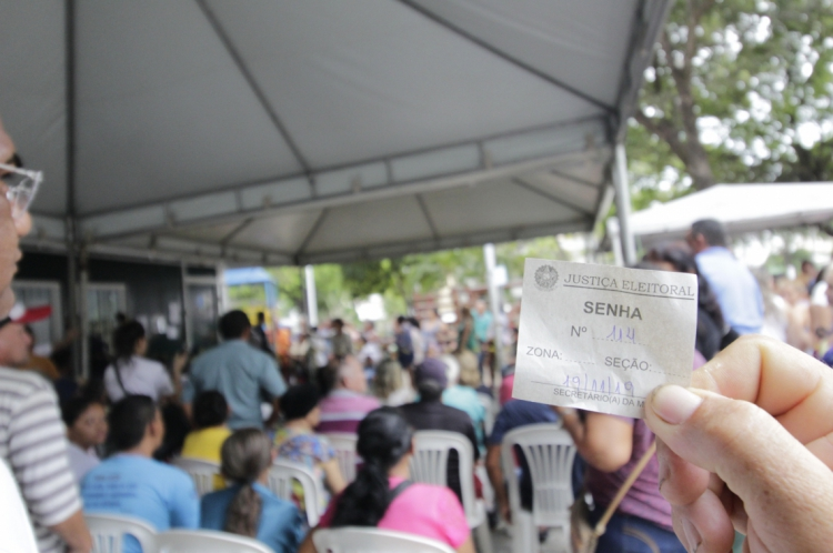 Cadastramento Biométrico também é realizado na Cidade das Crianças, no Centro de Fortaleza
