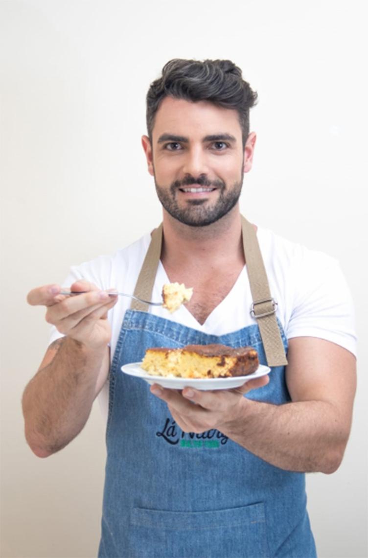 O nutricionista e chefe de cozinha André Luiz Silva, conhecido como