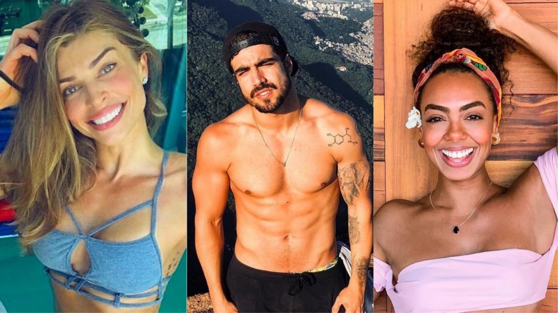 Caio Castro se relacionou com outra atriz durante relacionamento com Grazi Massafera.